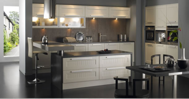 Kitchen design Belize cream