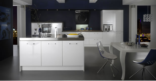 Kitchen design Metro Ice