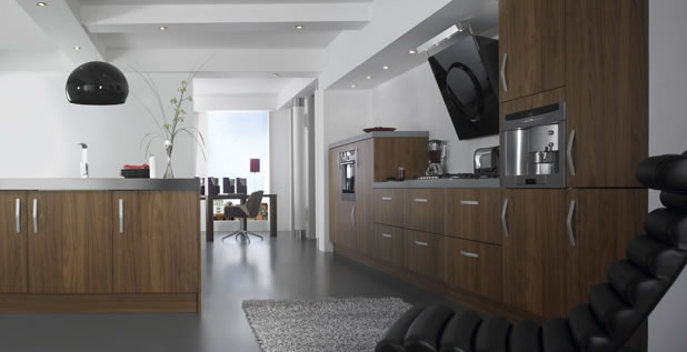Kitchen design Metro Walnut