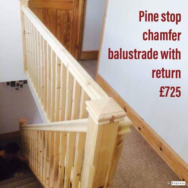 Pine staircase price