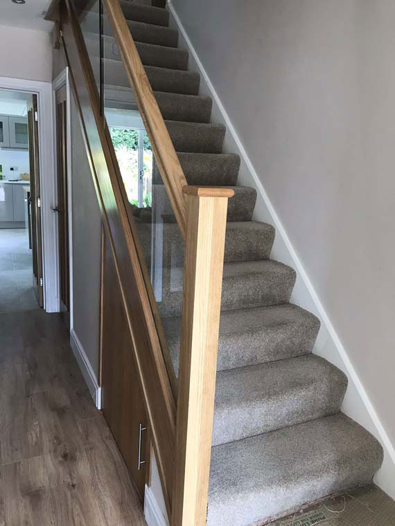 Staircase in oak